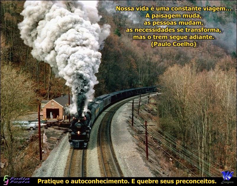 O Trem segue a diante...