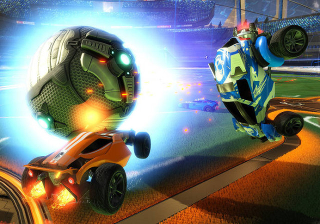 تنزيل لعبة Rocket League revenge the battle cars