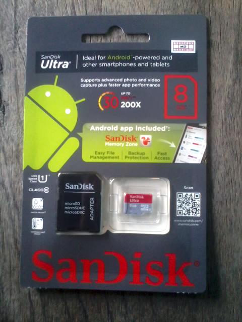 Cara Memilih SD Card Untuk Android