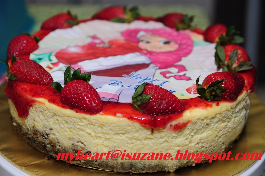 Cheese Cake With Straberry Toping