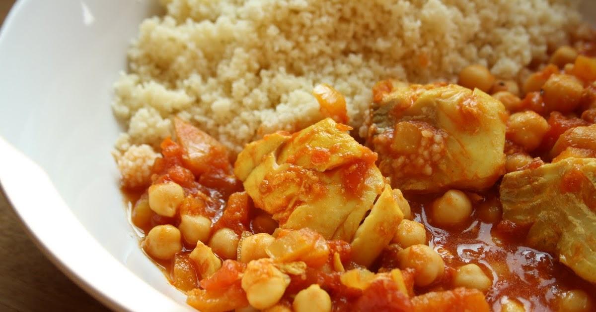 Half a pot of cream moroccan fish stew for Creamy fish stew