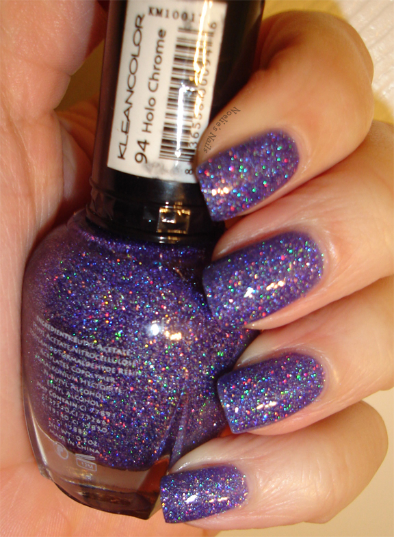 Noelie\'s Nails: Kleancolor Holo Chrome - Way Too Many Pictures!