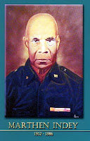gambar-foto pahlawan nasional indonesia, Marthen Indey