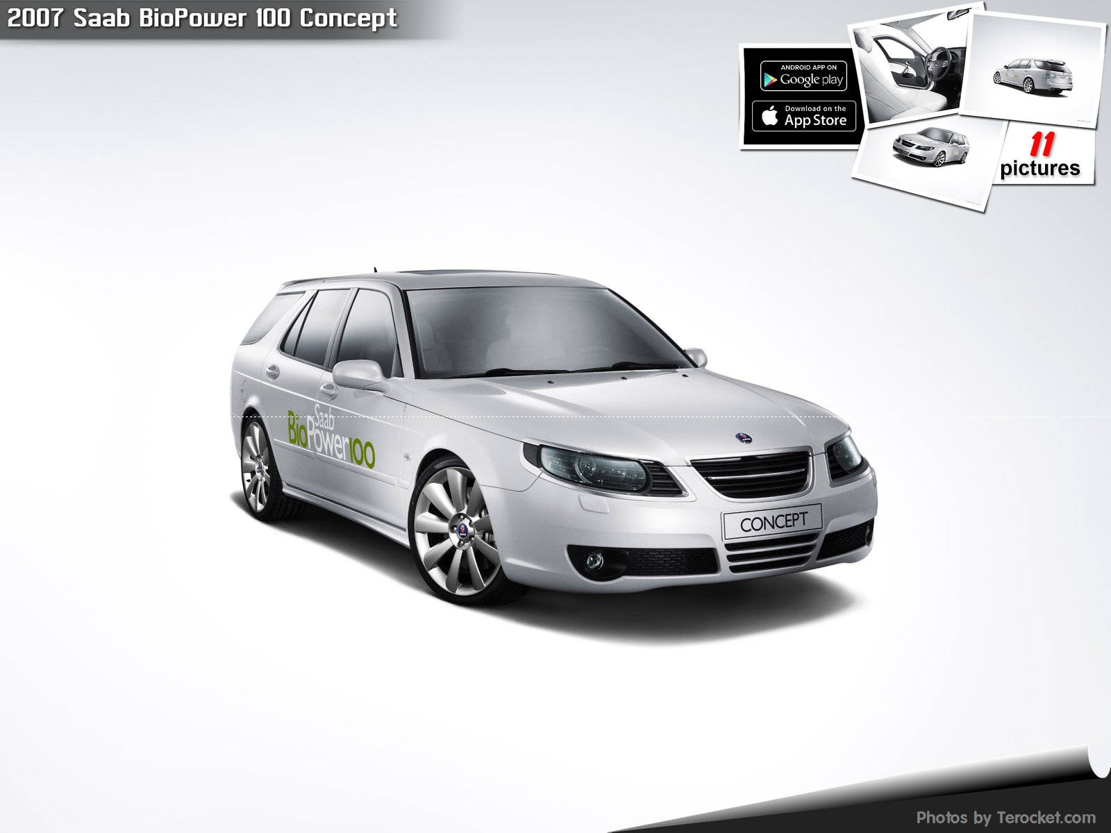 Hình ảnh xe ô tô Saab BioPower 100 Concept 2007 & nội ngoại thất
