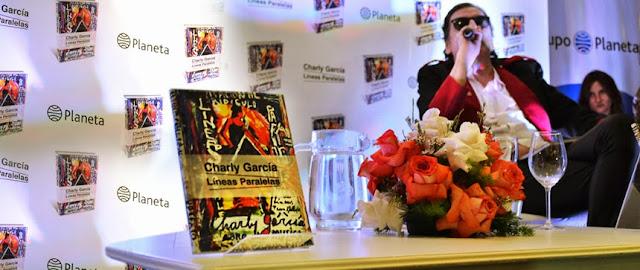 Presentación del libro Líneas Paralelas de Charly García
