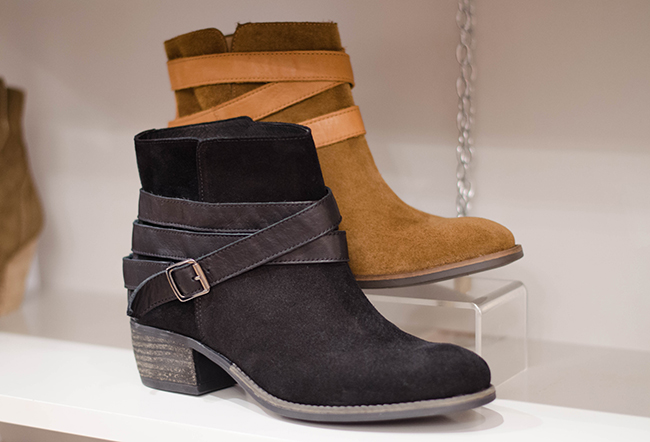 Falco Suede Ankle Boots