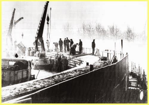 Construcción Muro Berlín