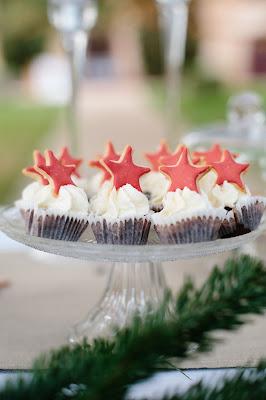 cupcakes estrellas
