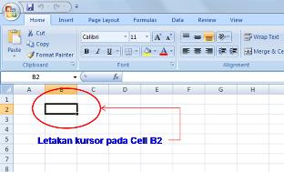 Microsoft Excel 2007,Belajar Komputer