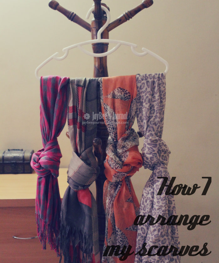 storing scarves dupattas hijabs, pakistani beauty blog