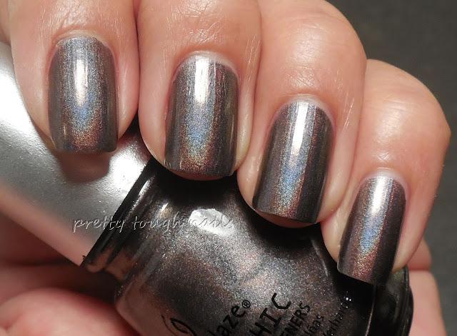 China Glaze Galactic Grey