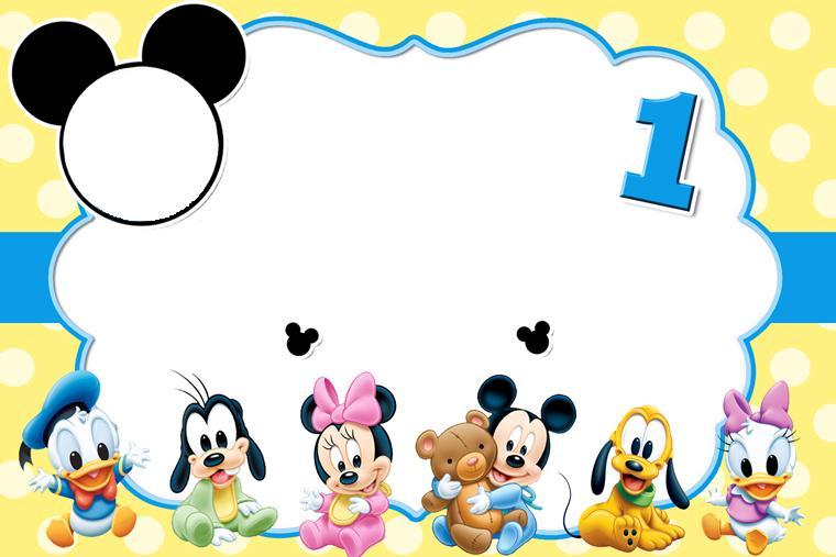 La Super Mamy: Semana de cumples: Mickey Mouse Bebé