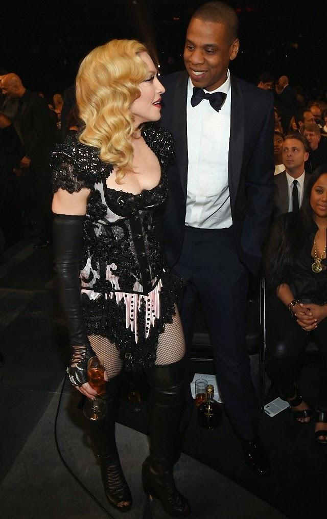 Madonna y Jay Z
