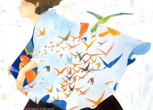 Illustration Inspire: The World of Rie Nakajima