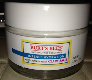 burts bees intense hydration night cream