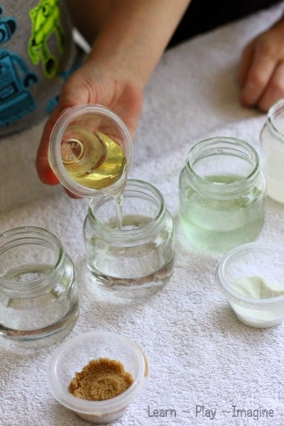 What dissolves in water?