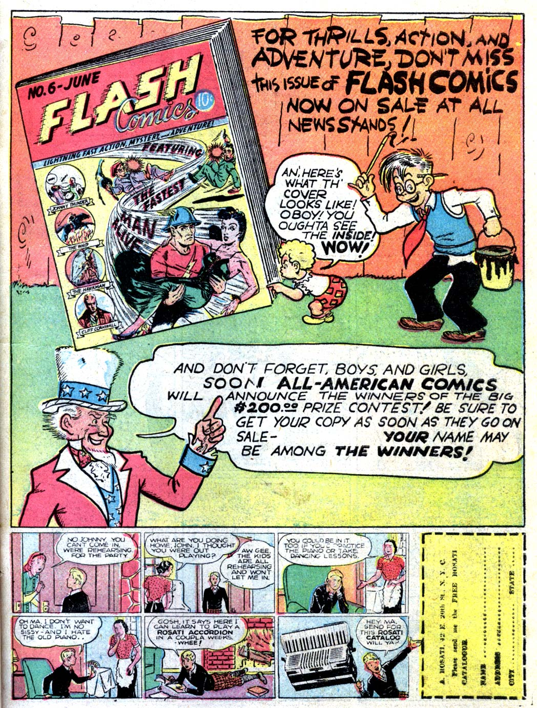 Read online All-American Comics (1939) comic -  Issue #15 - 27