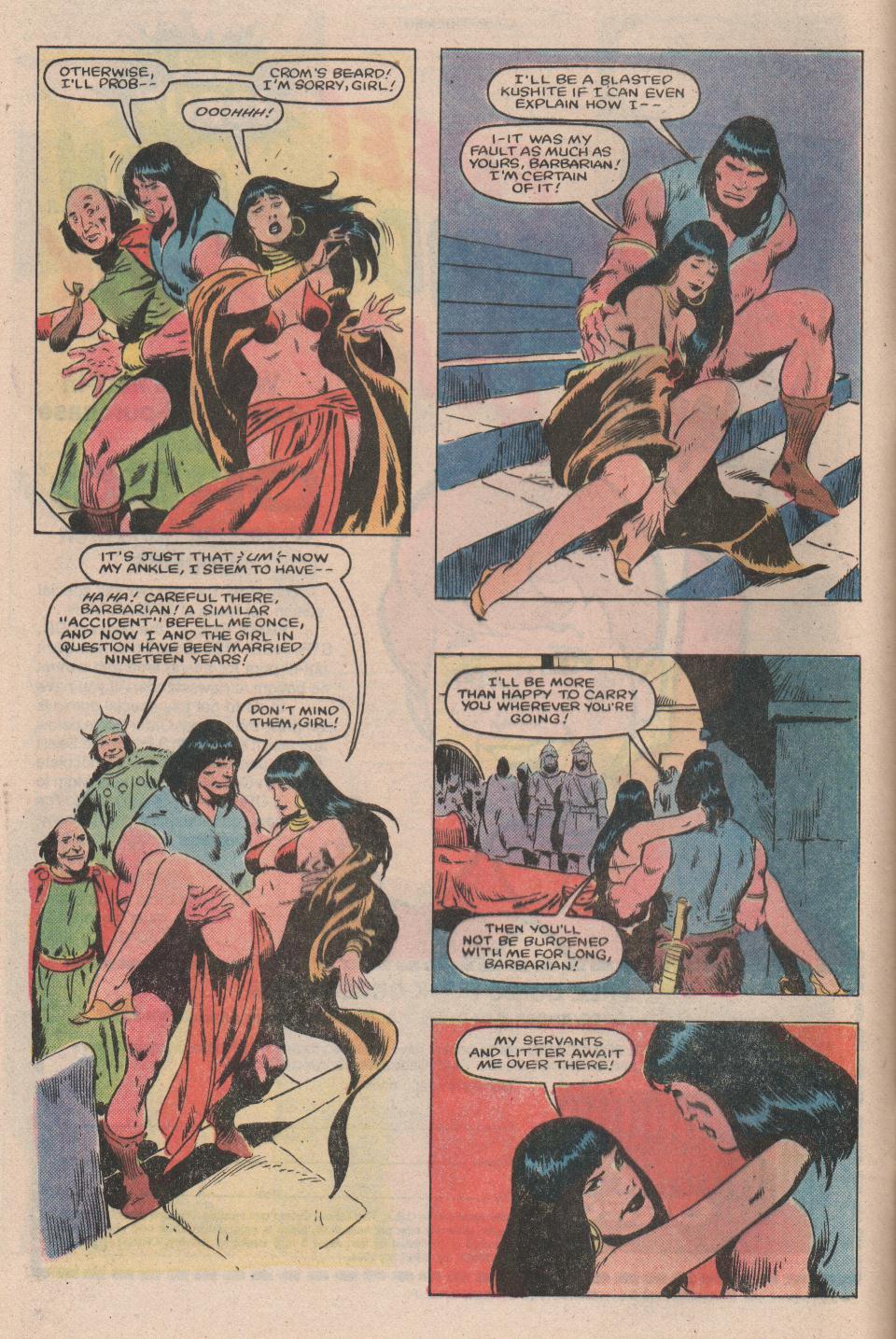 Conan the Barbarian (1970) Issue #159 #171 - English 6