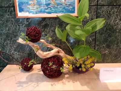 floral arrangement sakhalin russia