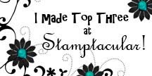 Top 3 at Stamptacular!!!!