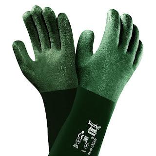 Ampliar imagen : Guantes de protección química - SNORKEL - ANSELL (PVC)