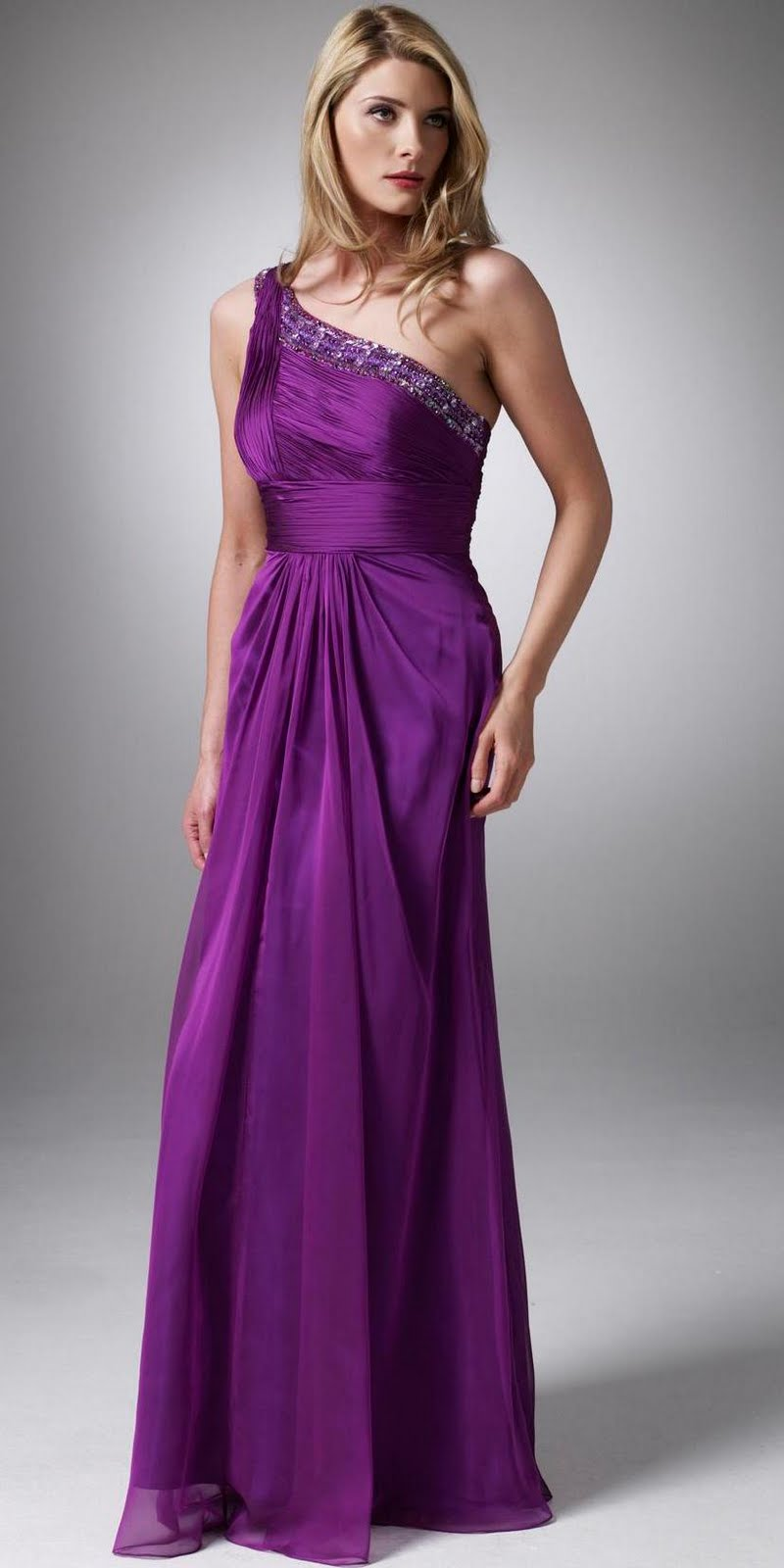 BEST WEDDING IDEAS: Evening Purple Prom Dresses Are Sexy And Wonderful
