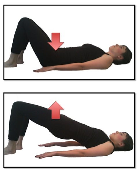Exercise of the Day: Day 54- Bridge with Neutral Spine