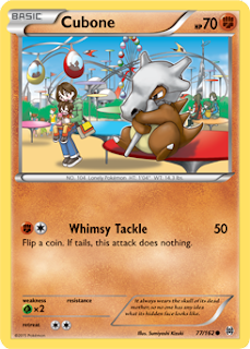 Cubone BREAKthrough Pokemon Card