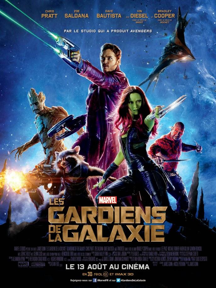 Affiche française Les Gardiens de la galaxie