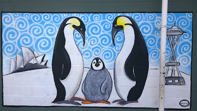 Henry: Penguins – Between the Sydney Opera House and the Seattle Space Needle