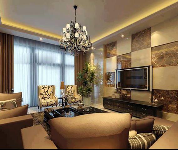 Dise o de interiores peru dise o de salas living para el for Diseno de paredes para salas