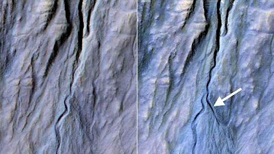 Images from (HiRISE) Camera on NASA's Mars Reconnaissance Orbiter 11-5-13