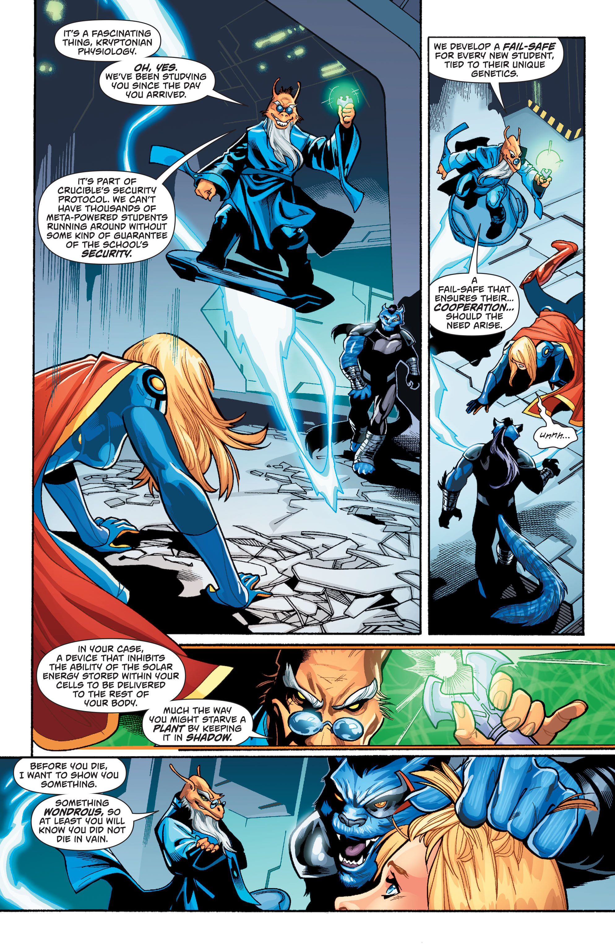 Supergirl (2011) Issue #39 #41 - English 17