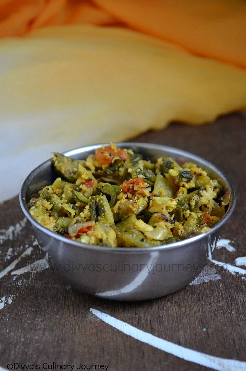 Easy South Indian bitter gourd recipe