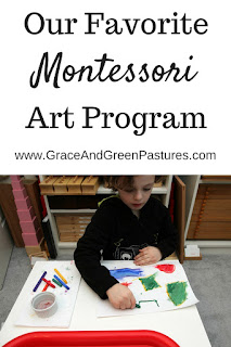 Our Montessori Art Program