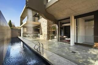 a continuacin algunas fotos de piscinas pequeas piscinas de lujo en casa with piscinas alargadas