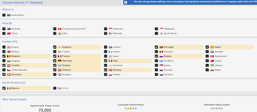 Choose nations in FM14