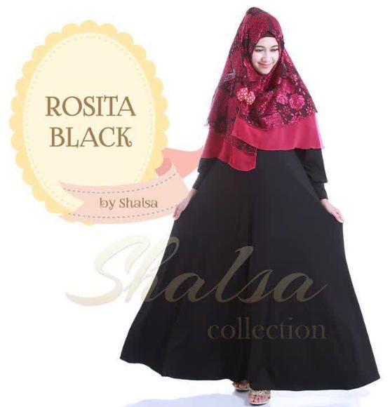 Kumpulan Desain Contoh Model Baju Muslim Gamis Terbaik