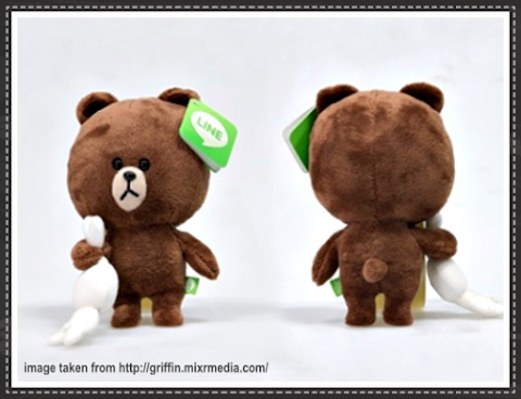 LINE Chat Apps Bear