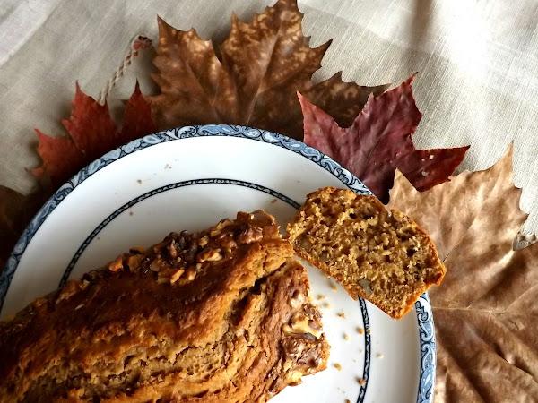 Cake d'automne speculoos et noix