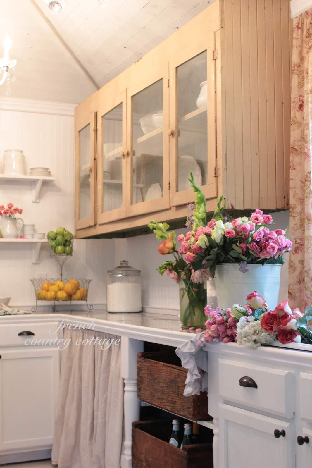 Building A Vintage Inspired Farmhouse Kitchen French