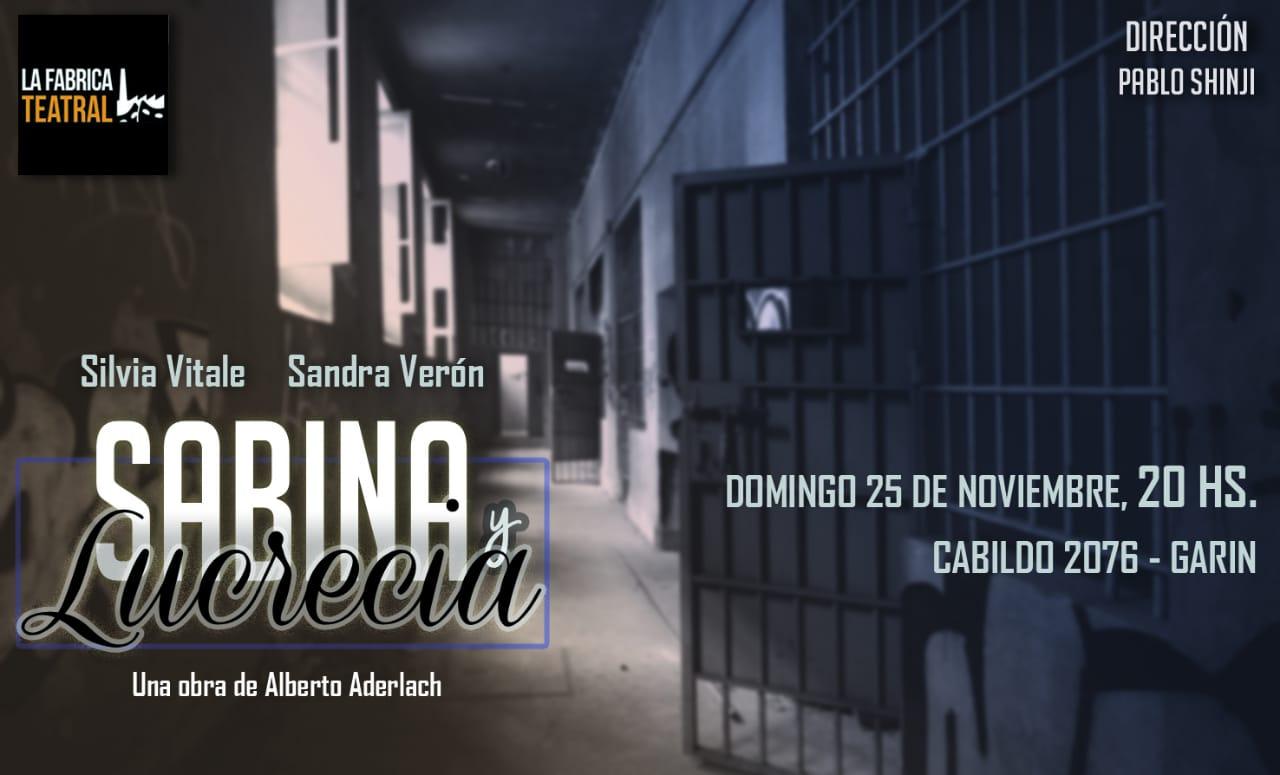 Muestra Clinica teatral 2018. Sabina y Lucrecia de Alberto Aderlach