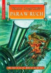 "Terry Pratchett ""Para w ruch"" - okładka"