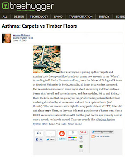 Indoor Air Quality: Hard Surface vs. Carpet