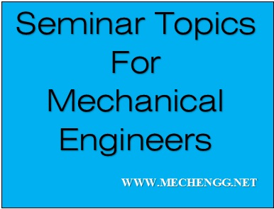 Research Papers Of Mechanical Engineering