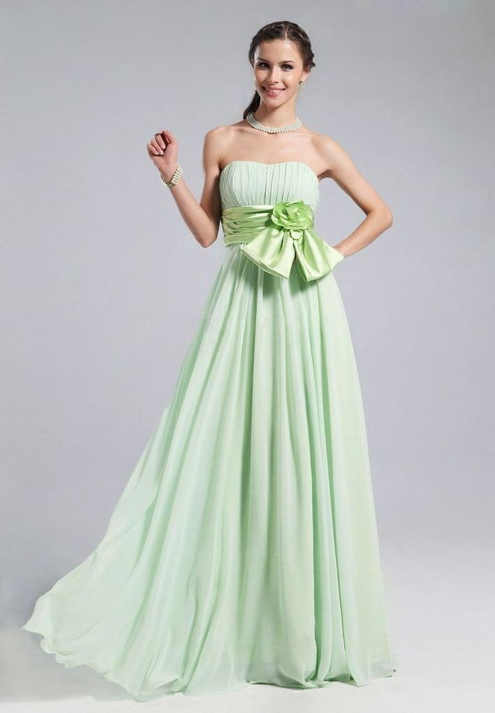 The Fashion Trend For Bridesmaids Green Bridesmaid Dresses