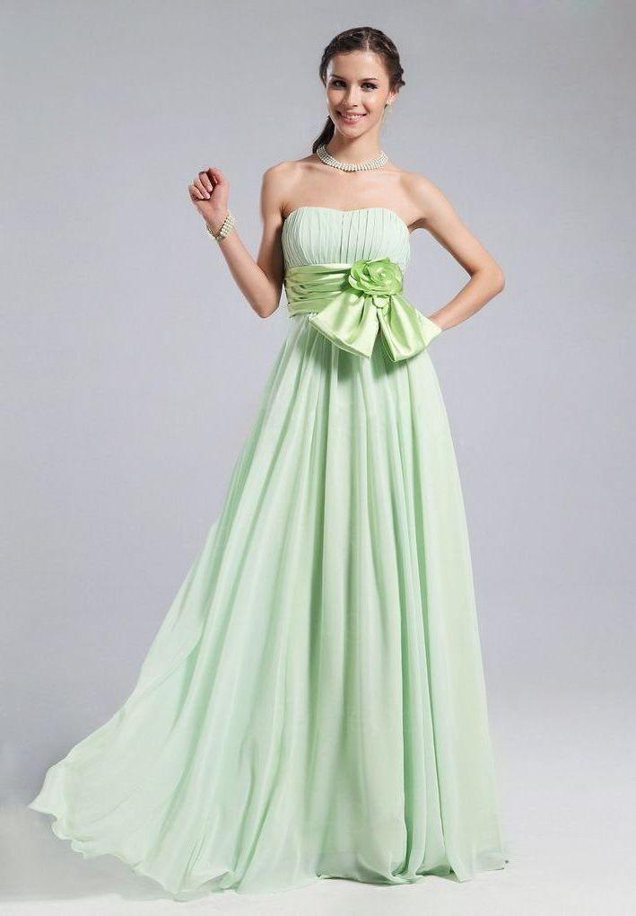 Whiteazalea bridesmaid dresses green bridesmaid dresses for Green wedding dresses pictures