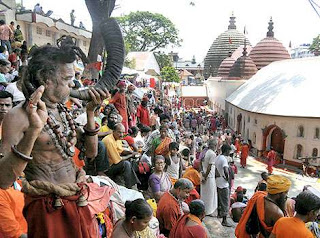 Lakhs of devotees visit Kamakhya temple, Guwahati to celebrate Ambubachi mela