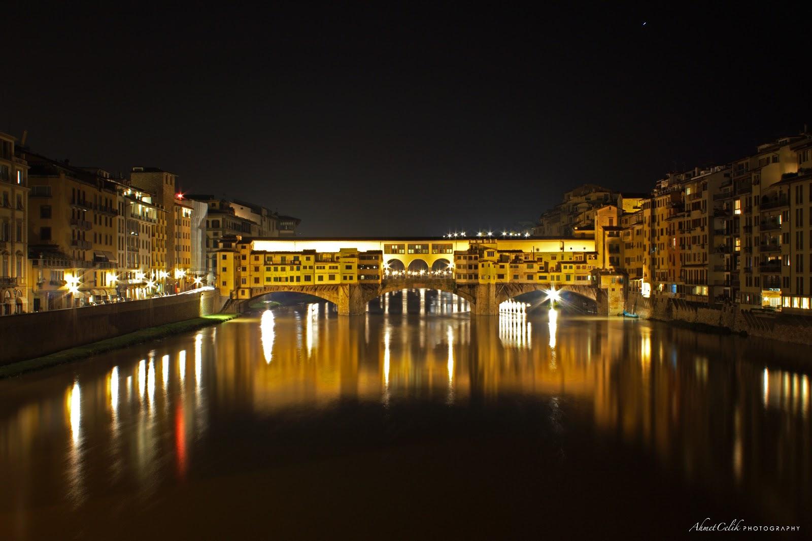 Ponte Vecchio at Night | AC PHOTO STUDIO