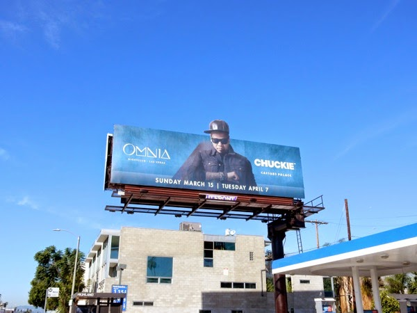 Omnia nightclub Chuckie billboard